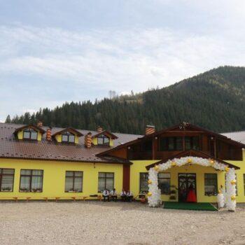 Отель-ресторан Межгорье: фасад