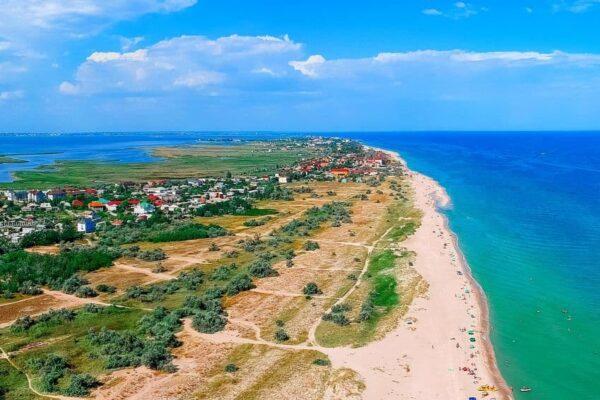 Море в Бердянську - фото